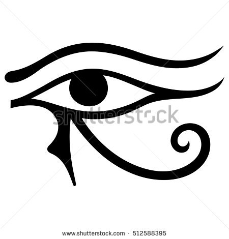 Eye Of Horus coloring #7, Download drawings