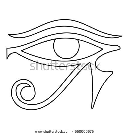 Eye Of Horus coloring #20, Download drawings