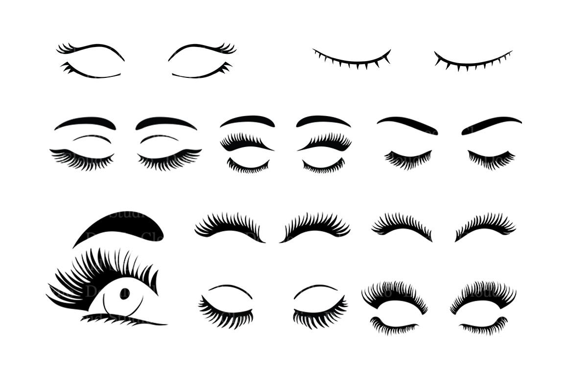 eyelash svg #892, Download drawings