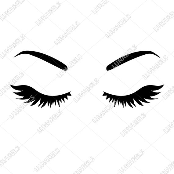 eyelashes svg #600, Download drawings