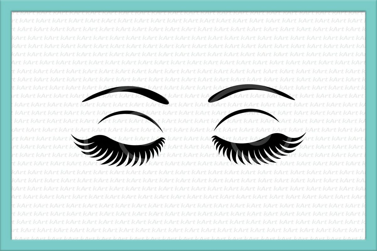 eyelashes svg #603, Download drawings