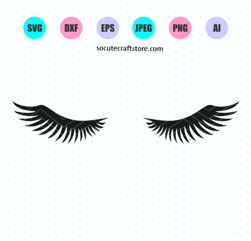 eyelashes svg #605, Download drawings