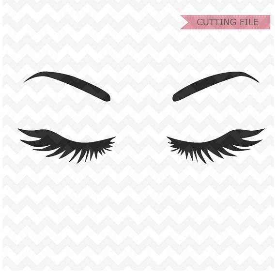 eyelashes svg #607, Download drawings
