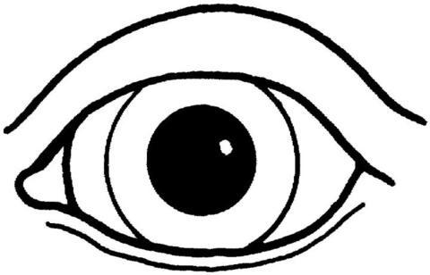 Eyes coloring #10, Download drawings