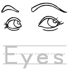 Eys coloring #8, Download drawings