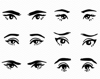 Eyes svg #448, Download drawings
