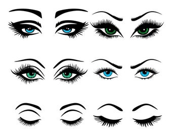 Eyes svg #440, Download drawings