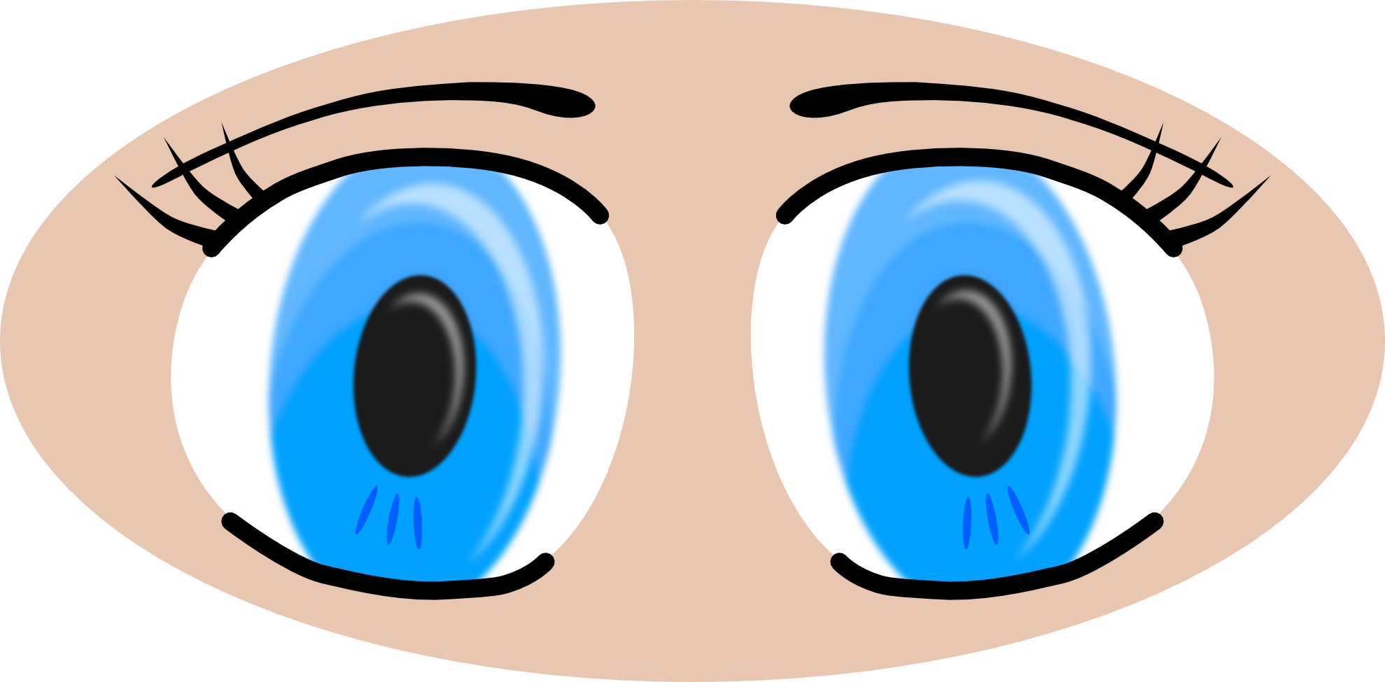 Eyes clipart #4, Download drawings