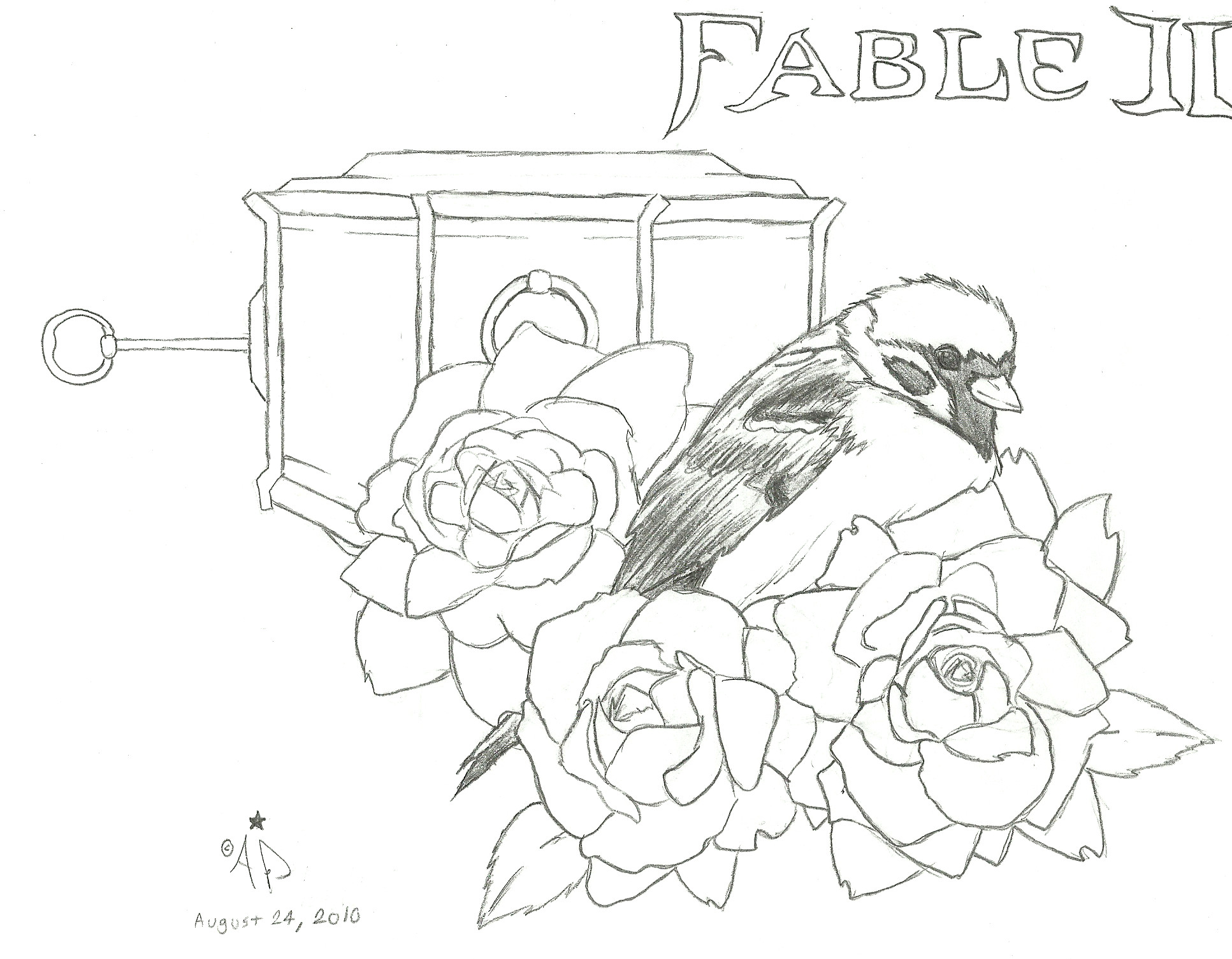 Fable 2 coloring #12, Download drawings