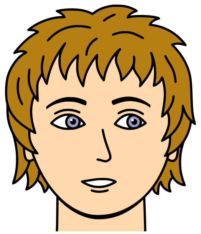 Face clipart #6, Download drawings