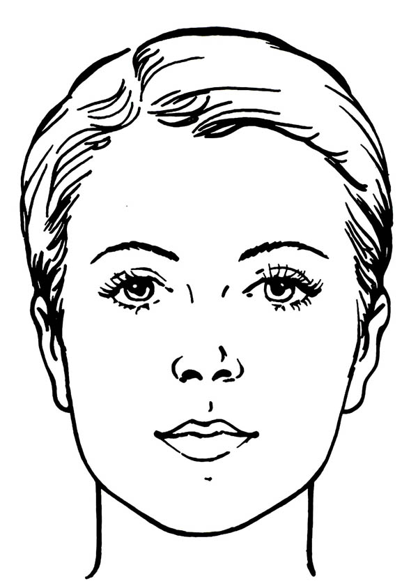 Face coloring #18, Download drawings
