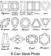 Facets clipart #10, Download drawings