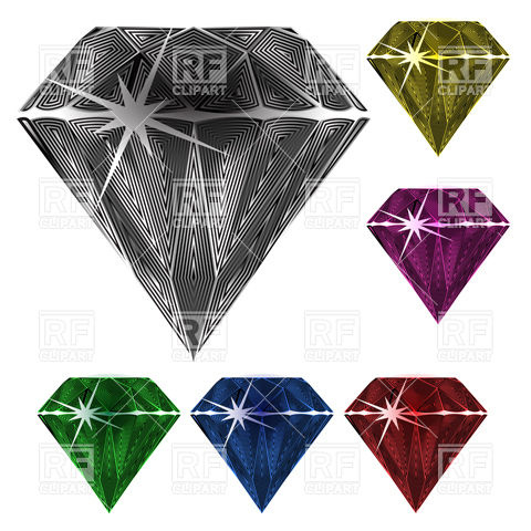 Facets clipart #11, Download drawings