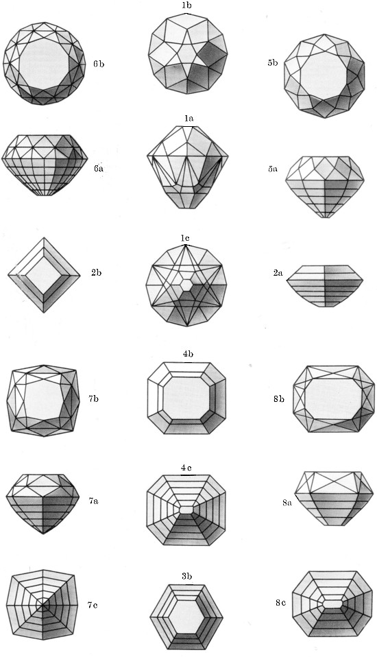 Facets coloring #6, Download drawings