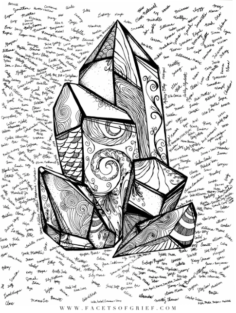Facets coloring #8, Download drawings