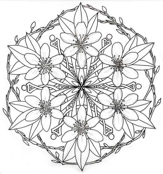 Facets coloring #19, Download drawings