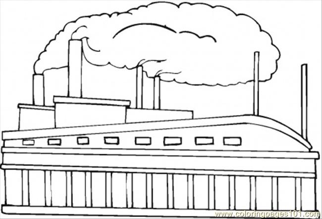 Factory coloring #2, Download drawings
