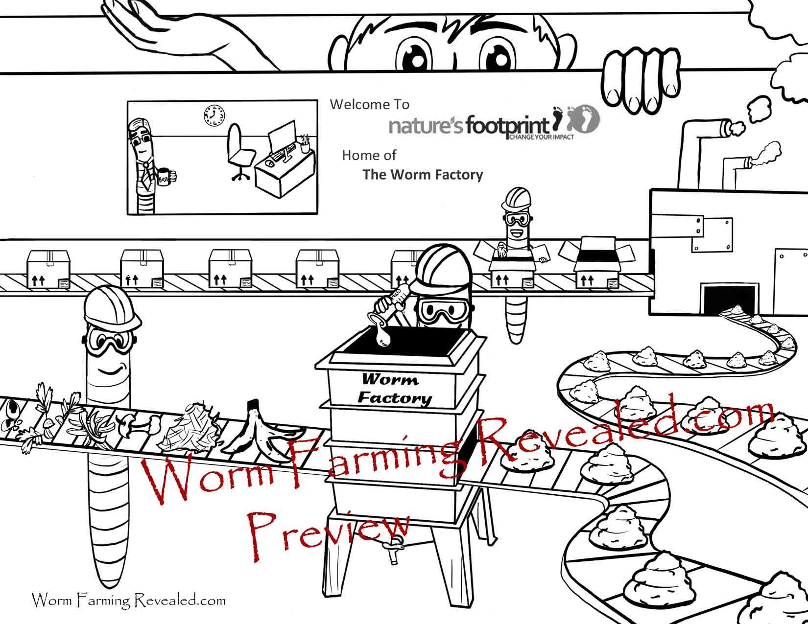 Factory coloring #8, Download drawings
