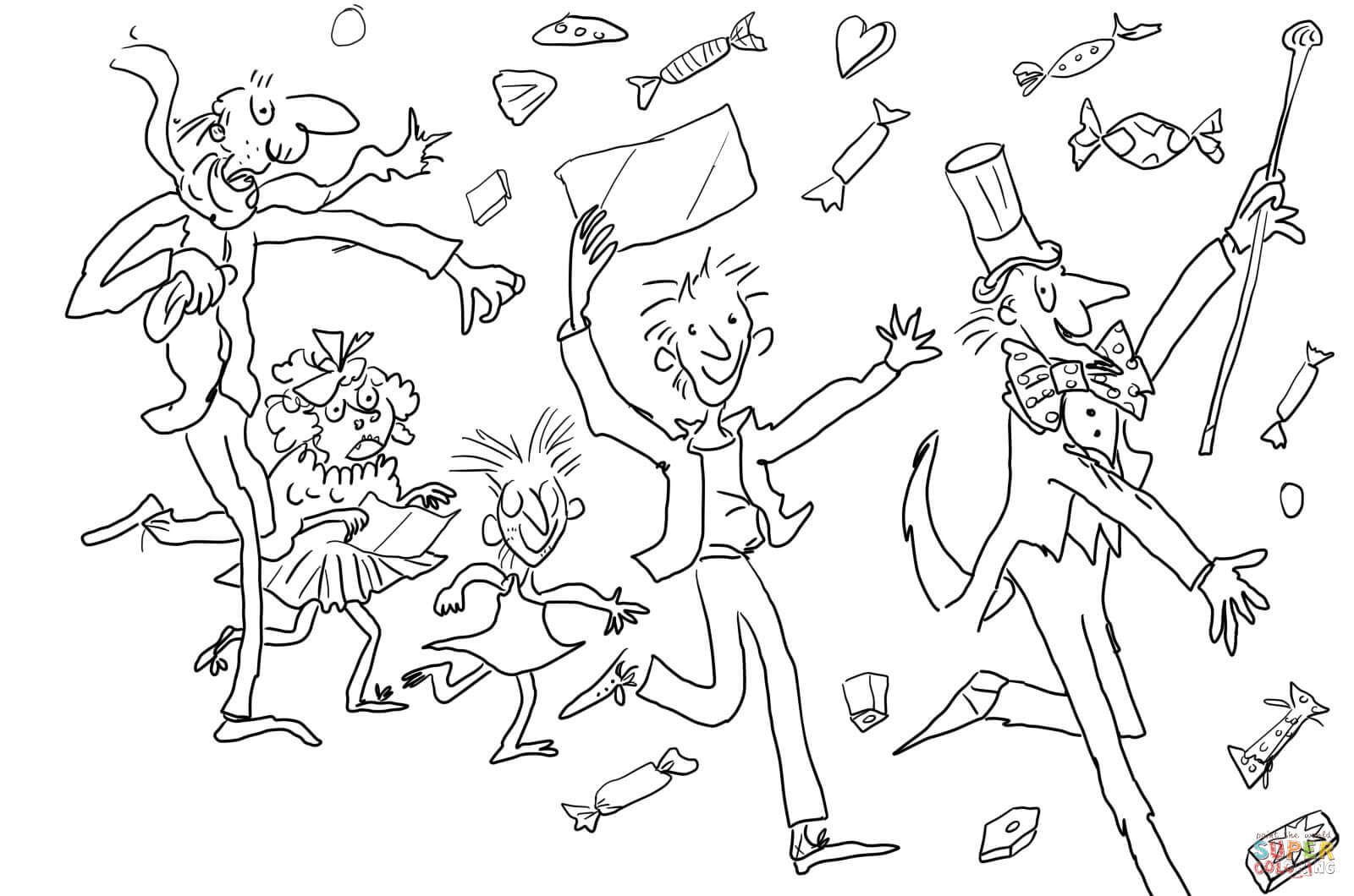 Factory coloring #19, Download drawings