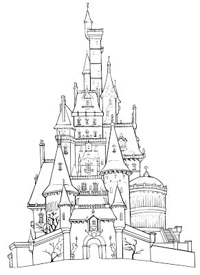 Fairfax Castle coloring #10, Download drawings