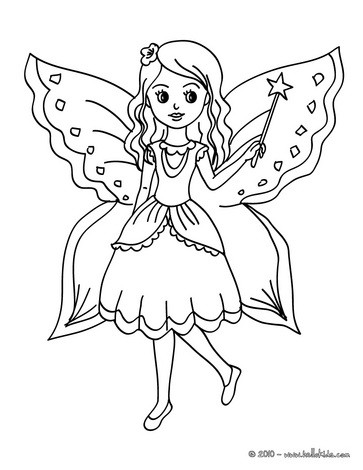 Gorgeous Fairies! coloring #2, Download drawings