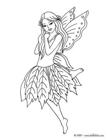 Fairy coloring #6, Download drawings
