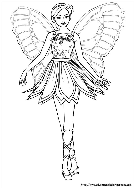Gorgeous Fairies! coloring #3, Download drawings