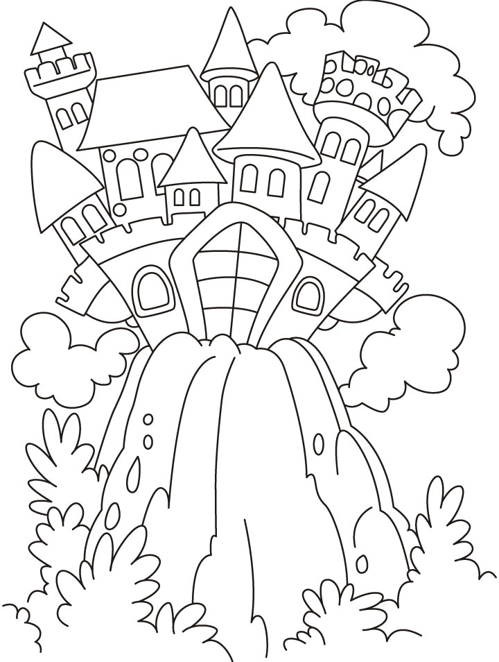 Fairytale coloring #18, Download drawings