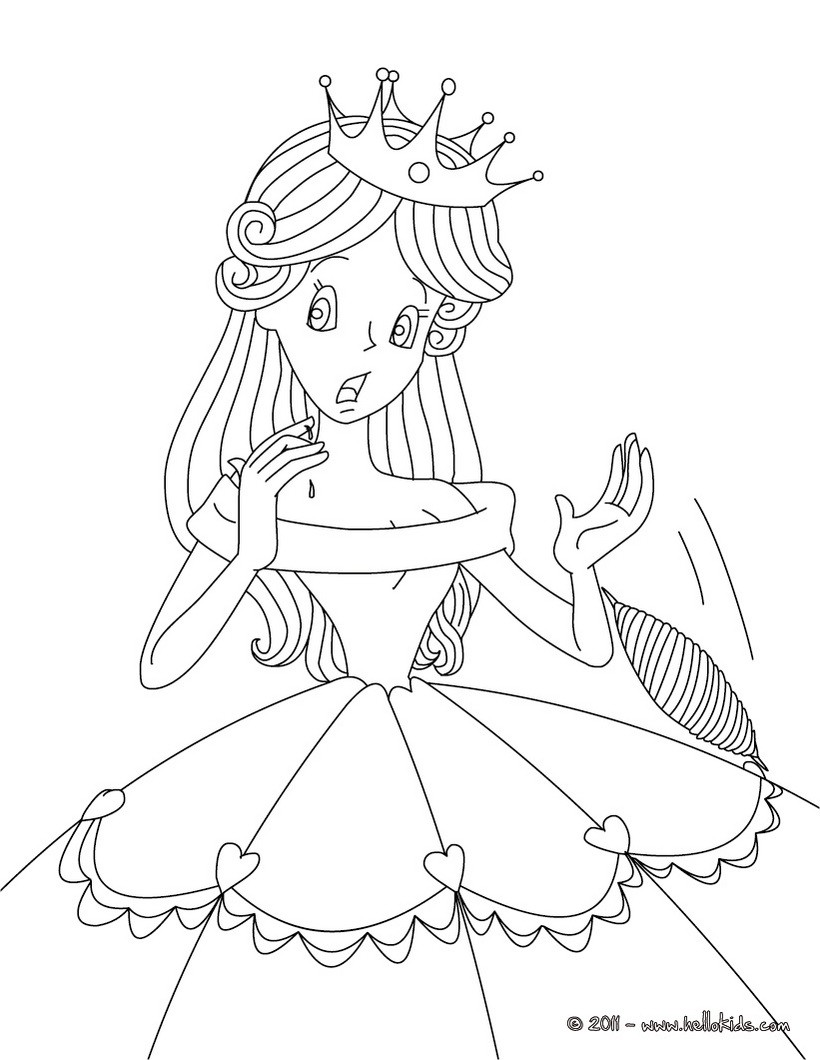 Fairytale coloring #4, Download drawings