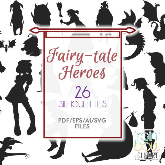 Fairytale svg #11, Download drawings