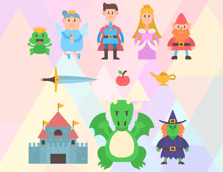 Fairytale svg #20, Download drawings