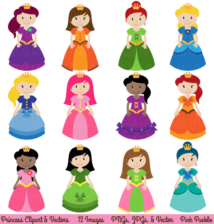 Princess clipart #17, Download drawings