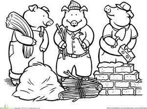 Fairytale coloring #19, Download drawings