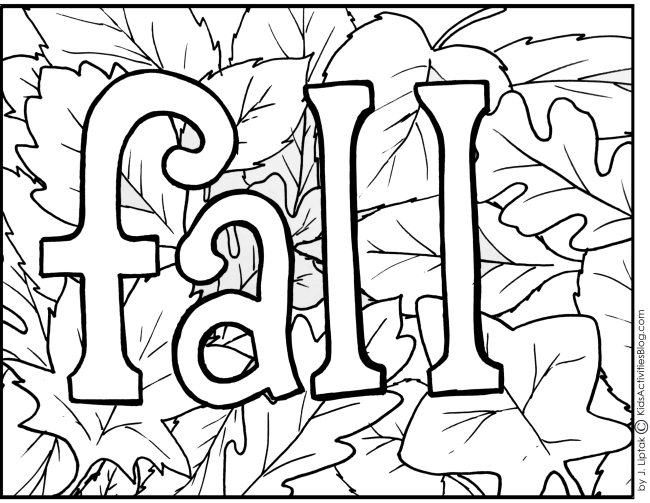 Fall coloring #20, Download drawings