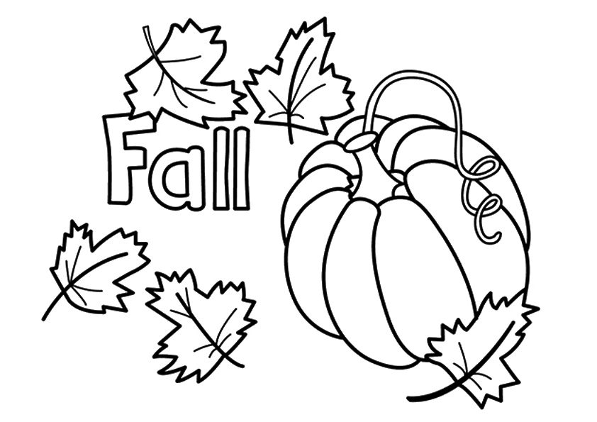 Fall coloring #17, Download drawings