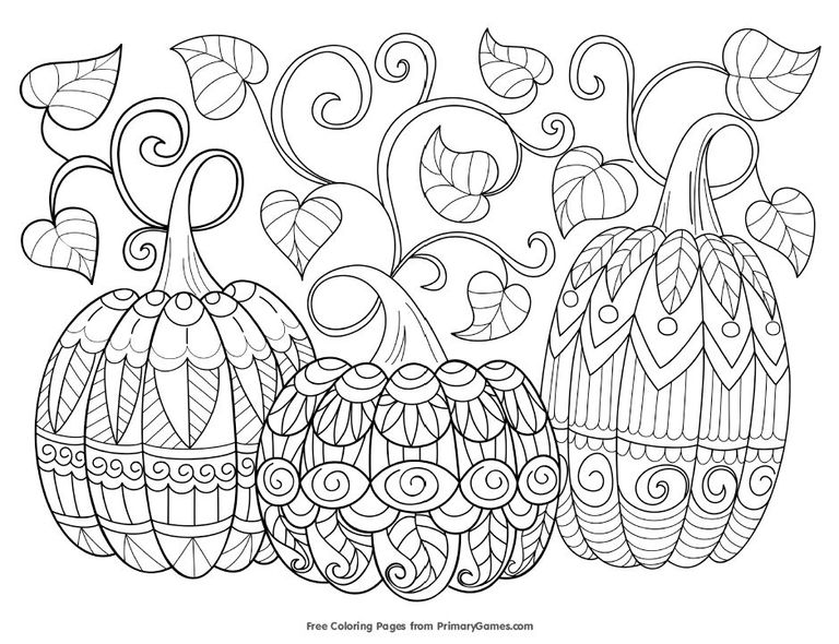 Fall coloring #5, Download drawings
