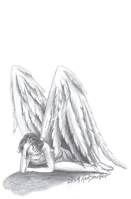Fallen Angel coloring #9, Download drawings