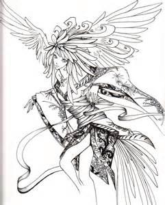Fallen Angel coloring #16, Download drawings