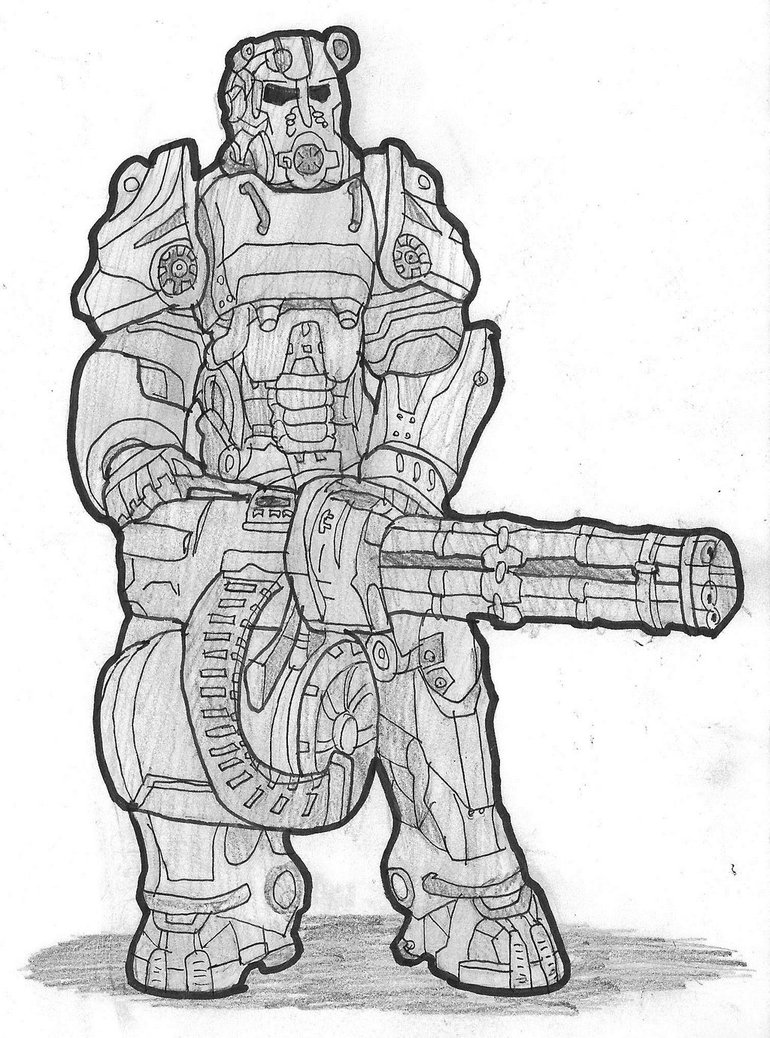 Fallout 4 coloring #18, Download drawings