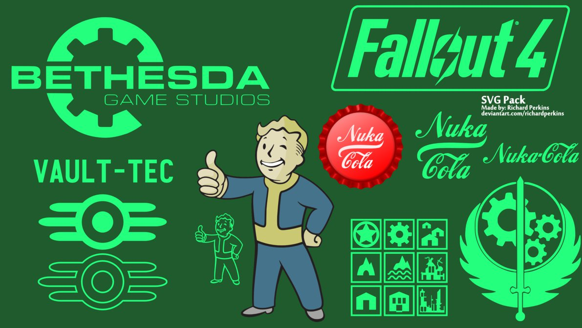 Fallout 4 svg #13, Download drawings