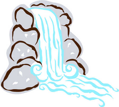 Falls clipart #5, Download drawings