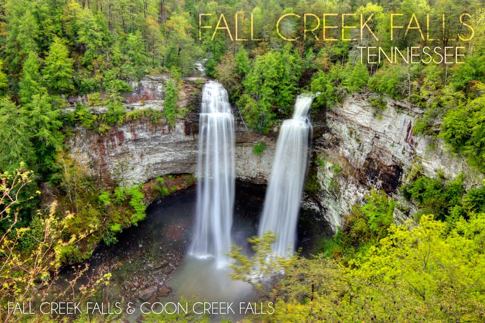 Falls Creek Falls coloring #6, Download drawings