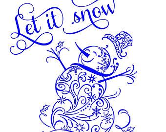 fancy snowman svg #57, Download drawings