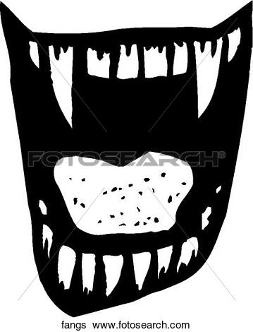 Fangs clipart #13, Download drawings