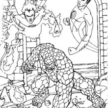 Fantastic Four coloring #8, Download drawings