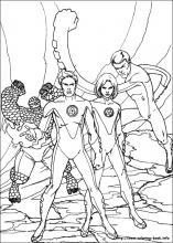 Fantastic Four coloring #14, Download drawings