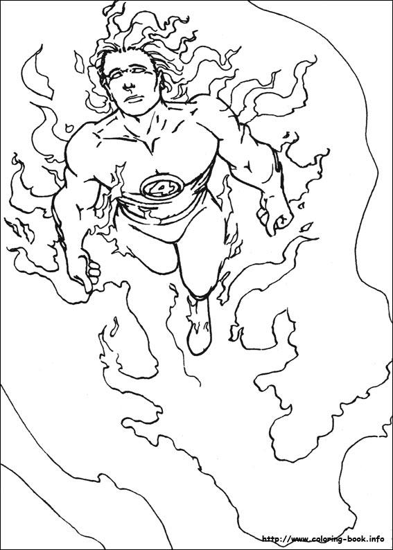 Fantastic Four coloring #6, Download drawings