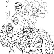 Fantastic Four coloring #13, Download drawings