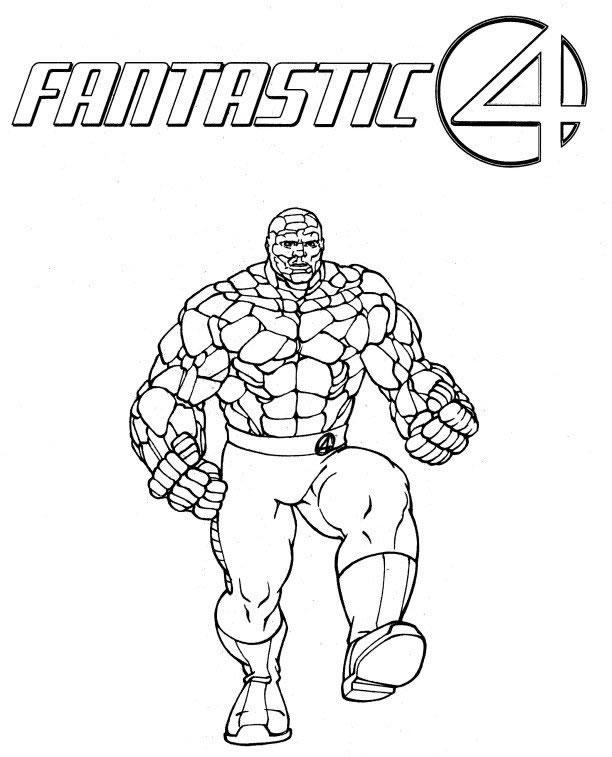 Fantastic Four coloring #15, Download drawings