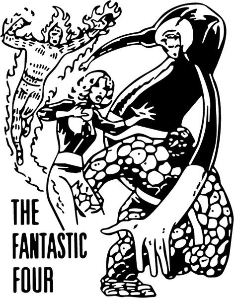 Fantastic Four svg #14, Download drawings